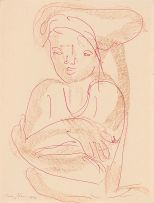 Irma Stern; Portrait of Woman