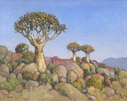 Conrad Theys; Quivertrees near Kamieskroon