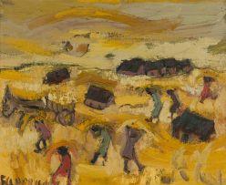 Frans Claerhout; Harvest Time