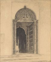 William Timlin; Entrance to the Old Palace