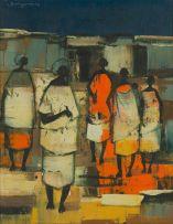 Jan Dingemans; Group of Women