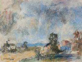Alexander Rose-Innes; Landscape with Country Road