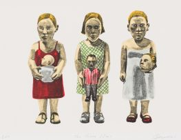 Claudette Schreuders; The Three Sisters