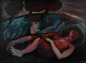 Harold Rubin; Reclining Nude