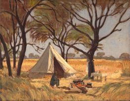 Jacob Hendrik Pierneef; At Pienaars River (Rooiplaat), Transvaal, Bushveld