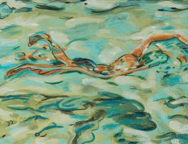 Louise Hall; The Swimmer