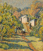 Rosa Somerville Hope; Orchard at Glenaholm, Pietermaritzburg