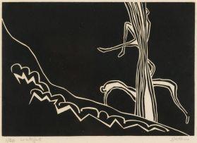 Walter Battiss; Waterfall