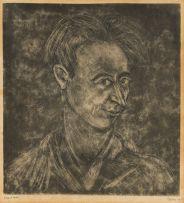 Lippy (Israel-Isaac) Lipshitz; Self Portrait