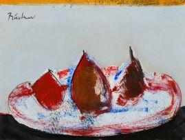 Carl Büchner; Still Life with Pears