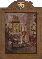A Robert 'Mouseman' Thomson of Kilburn oak frame