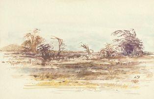 Adolph Jentsch; Bushveld Landscape