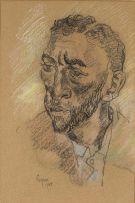 Gregoire Boonzaier; Portrait of a Bearded Man