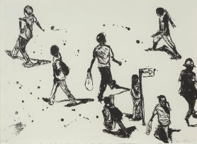Nelson Makamo; People in the Street