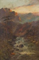 Charles Stanfield; Mountain Stream