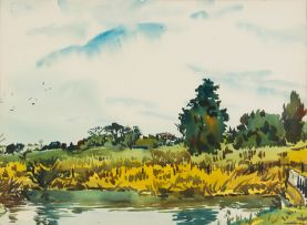 Richard Cheales; River Bank