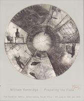 William Kentridge; Preparing the Flute, poster