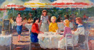 Wessel Marais; Café Scene
