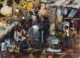 Ephraim Ngatane; Township Plumbers