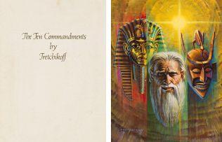 Vladimir Tretchikoff; The Ten Commandments, portfolio