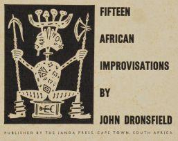 John Dronsfield; Fifteen African Improvisations, portfolio