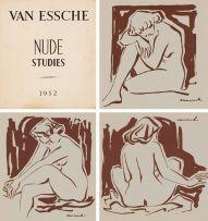 Maurice van Essche; Nude Studies, portfolio