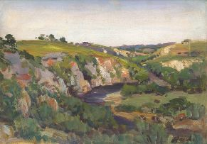 Hugo Naudé; The River - Knysna