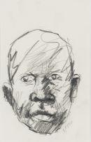 Nelson Makamo; Portrait of a Man
