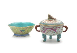 A Chinese famille-rose bowl, early 20th century