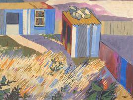 Peter Clarke; Quiet Backyard
