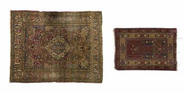 An Ispahan rug, Iran, circa 1940