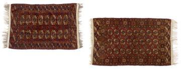 Two Bokhara rugs, Russia, circa 1930