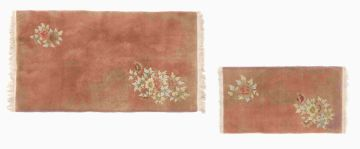 Two Chinese rugs, modern