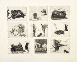 William Kentridge; Domestic Scenes - A Wildlife Catalogue