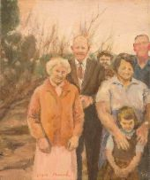 Clare Menck; Family Portrait