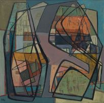Bettie Cilliers-Barnard; Abstract Composition