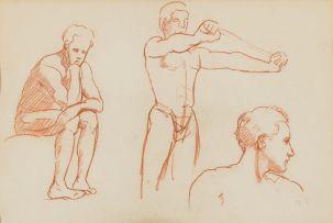 Maud Sumner; Male Figure Study