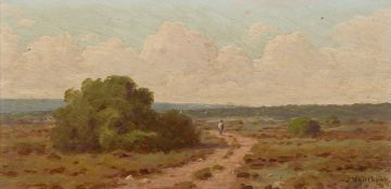 Jan Ernst Abraham Volschenk; An Old Country Road (Riversdale)