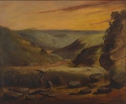 Frederick Timpson I'Ons; Mountainous Landscape, possibly Howieson's Poort