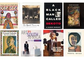 Various; Women and Art in South Africa; The Everard Phenomenon; A Black Man Called Sekoto; David Koloane; My Life and Work; Art in South Africa; Art of the South African Townships; Phafa-Nyika