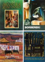 Various; The Art of Alexander Rose-Innes; Zoltan Borbereki; The Colourful Palette of Alfred Krenz; Contemporary South African Art 1985–1995