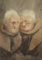 John Hassall; Two Monks