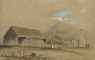 British School 19th Century; Magnetical Observatory, Cape of Good Hope, 1843