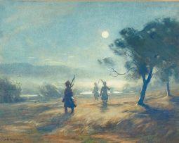John Farquharson; Night Patrol, Modder River 1899