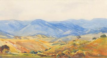 Walter Battiss; Extensive Landscape, Eastern Transvaal
