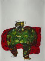 Robert Hodgins; Full Camouflage