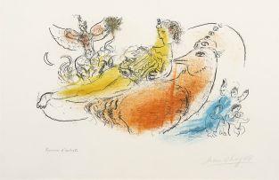 Marc Chagall; Der Akkordionspieler