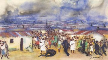 Ephraim Ngatane; The Approaching Storm, Post Sharpeville