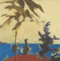 Andrew Verster; Background: Palms and Rooftops