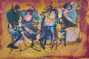 Ephraim Ngatane; Jazz Band